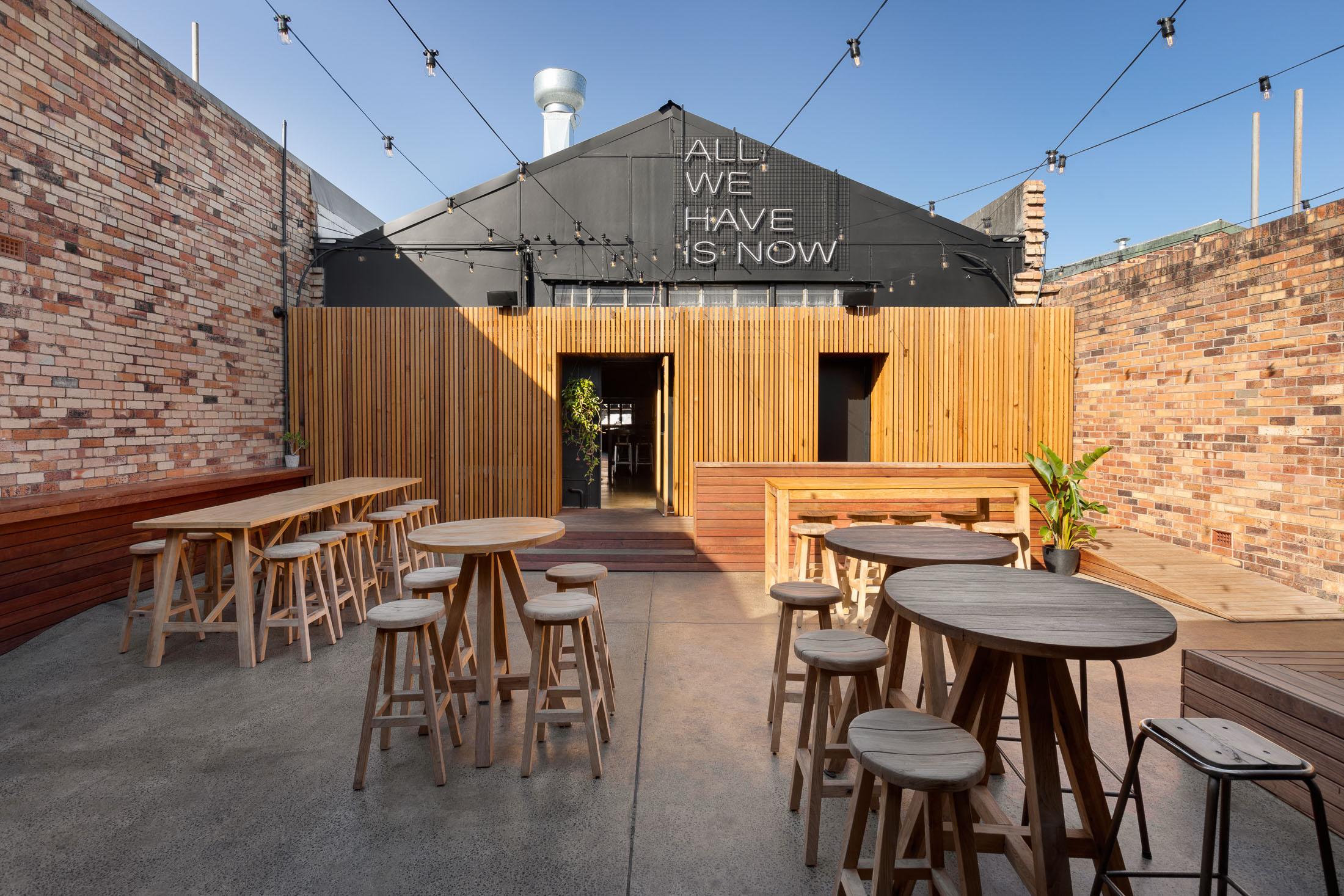Cedar and Pine Bar Design